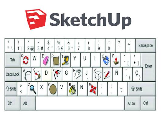 DESCARGAR atajos de teclado sketchup