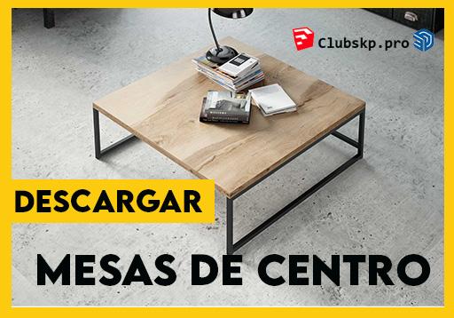 descargar-mesas-centro-sketchup