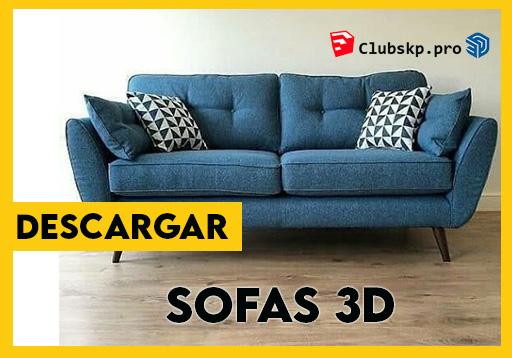 descargar-sofas-sketchup