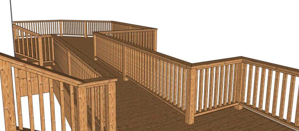 Deck builder para sketchup